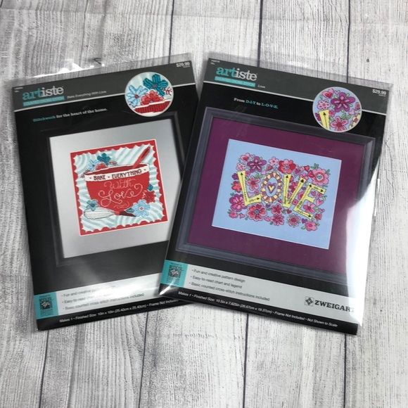 artiste Other - 🆕 Bundle ARTISTE Counted Cross Stitch Kits
